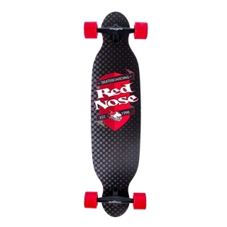 Skate LongBoard Alta Perfomance Mess Red Nose