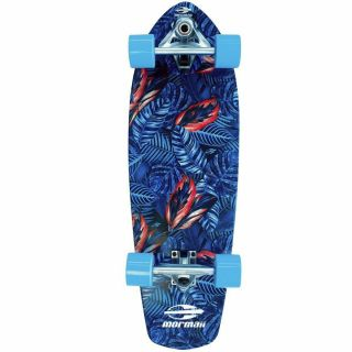 Skate Longboard Carver Simulador Surf Abec 5 Folhas Mormaii