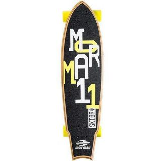 Skate Longboard Fishtail Cruiser Abec 7 Skape Maple Mormaii