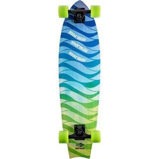 Skate Longboard Fishtail Cruiser Abec 7 Skape Maple Mormaii Verde
