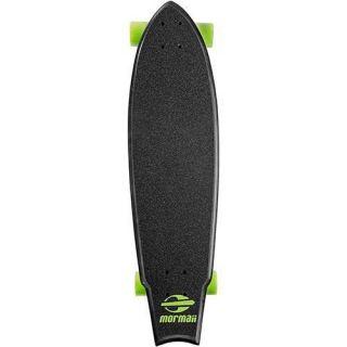 Skate Longboard Fishtail Cruiser Abec 7 Skape Maple Mormaii Verde