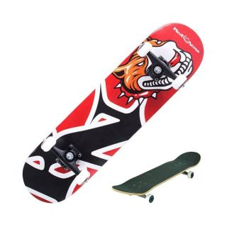 Skate Profissional Completo Red Nose Pró Abec5 Pu-90a Cachorro