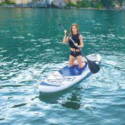 Prancha Stand Up Inflável Oceana Com Remo até 110 kg -  Bestway 65303