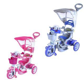 Triciclo ET Capota Removível com Música e Luzes - Bel