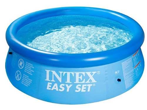 Piscina Inflável Easy Set Intex 3.853 L  + Bomba Filtrante