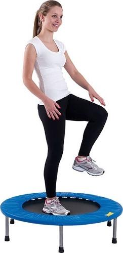 Trampolim Para Jump 100 Kg Mini Cama Elástica Fitness Mor