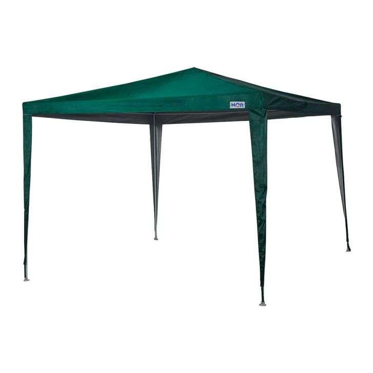 Tenda Gazebo Poliéster Oxford 3m X 3m Verde - Mor