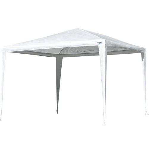 Gazebo Ráfia Branco 3x2,40 M - Mor