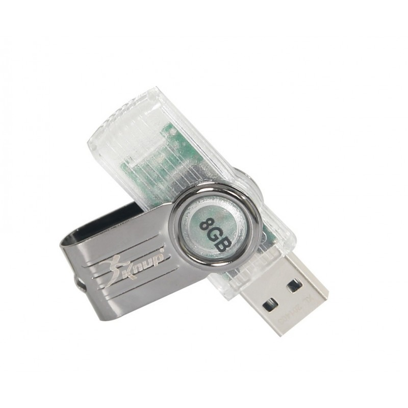 Pen Drive 8 GB Multicores - Knup