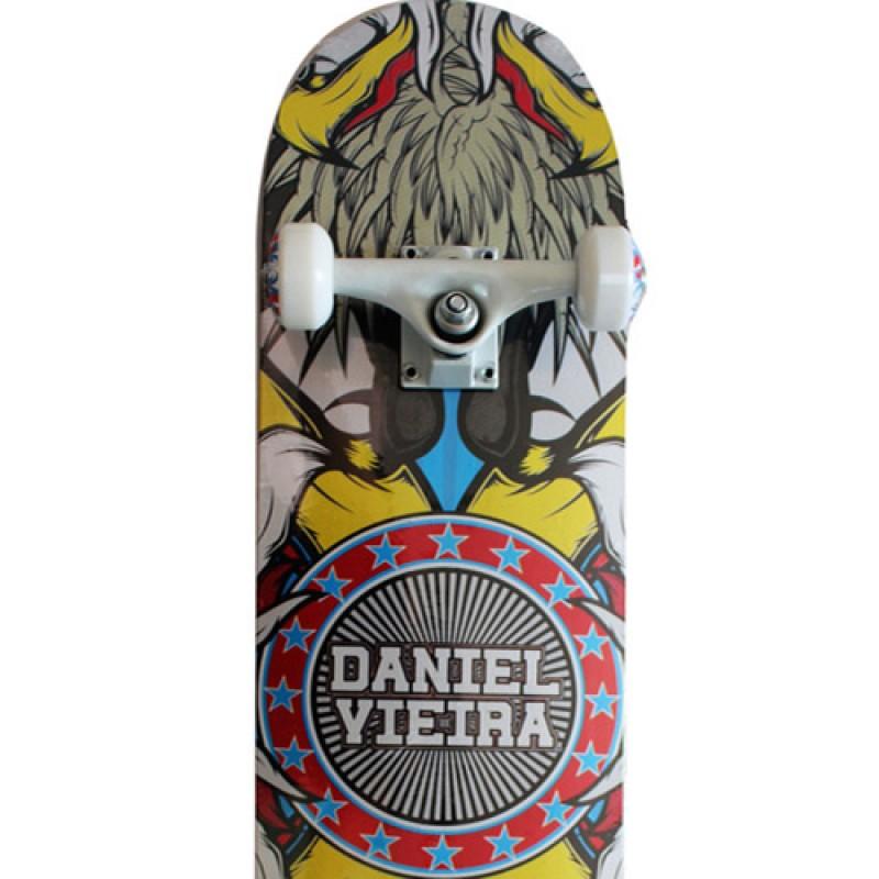Skate Profissional Daniel Vieira Abec 5 Rodas Shor 90a Águia