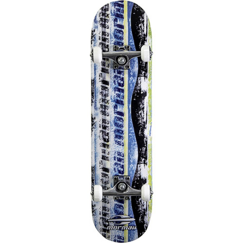 Skate Chill Street Completo Profissional Mormaii - Abec5 90a Azul