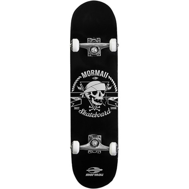 Skate Chill Street Completo Profissional Mormaii - Abec5 90a Caveira