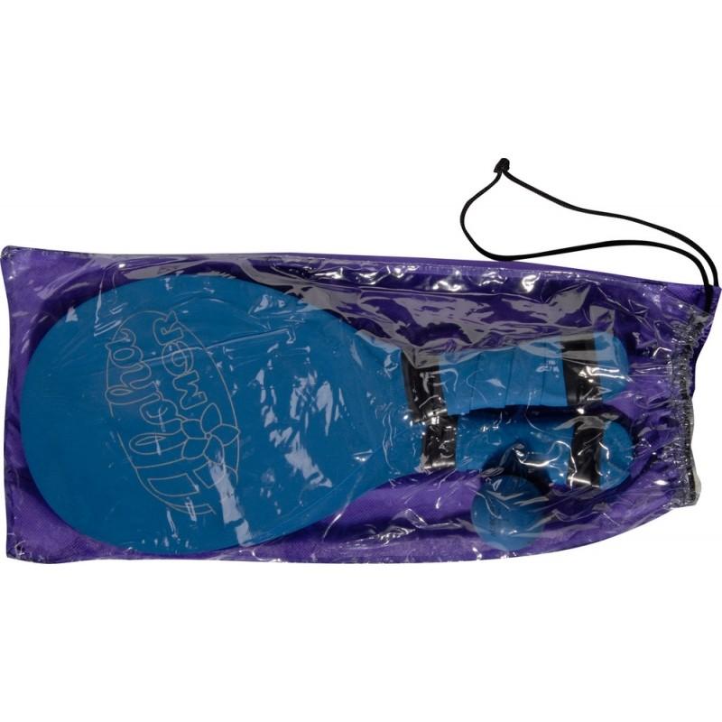Frescobol Revestido Com Bola MOR - Azul
