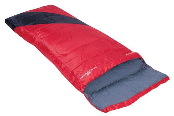 Saco De Dormir Camping Liberty 4ºc A 10ºc - Nautika + Sacola Vermelho