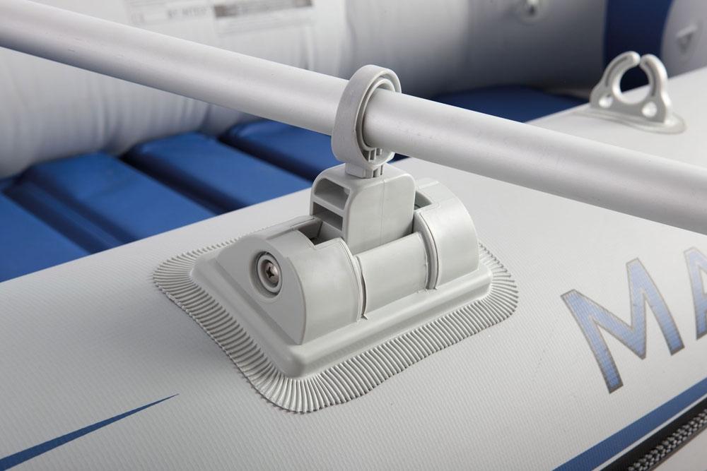 Bote Inflável Intex Mariner 3 C/ Par Remos Bomba Barco Pesca
