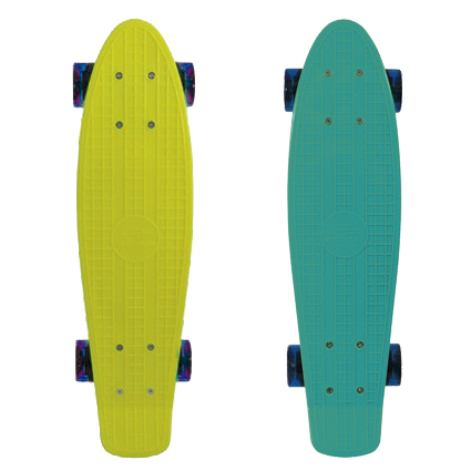 Mini Skate Cruiser Longboard Rodas Truck Abec-7 Surf Mormaii