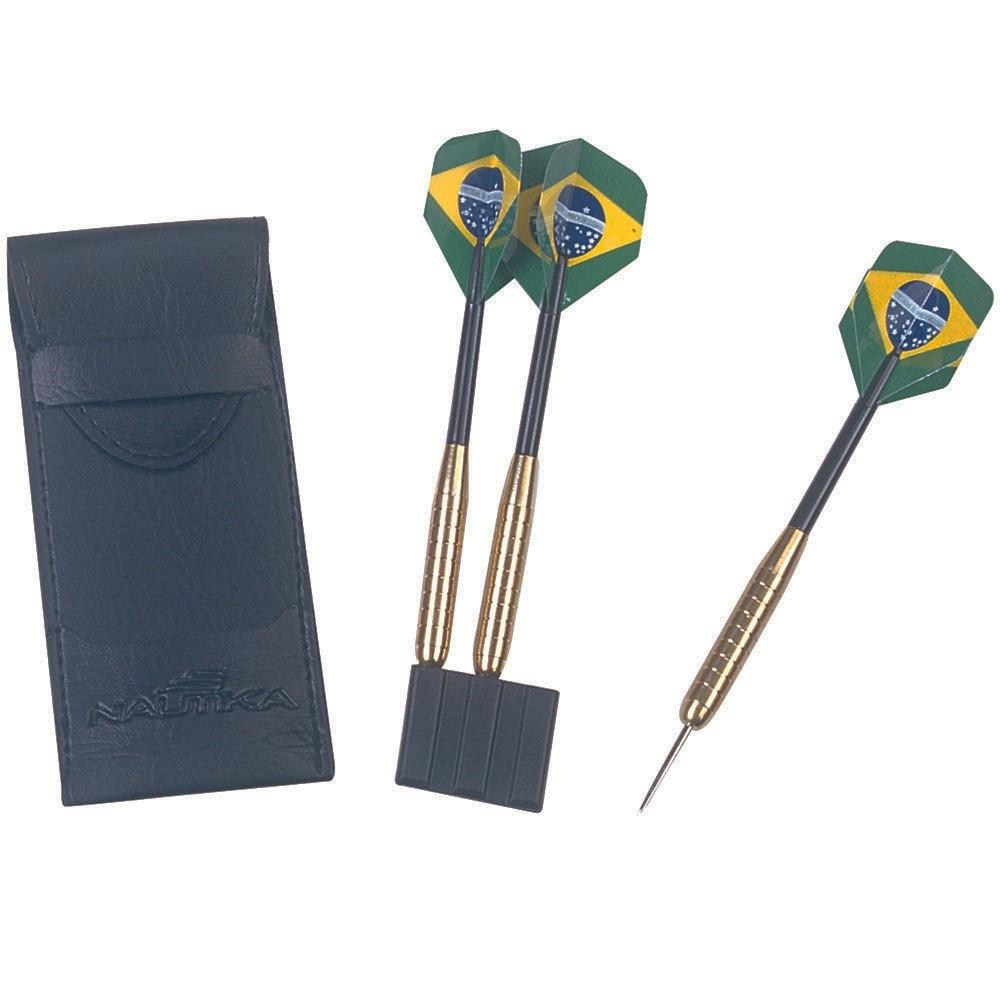Conjunto de Dardos 3 Unidades Brasil - Nautika