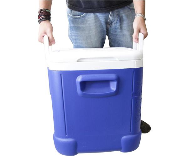 Caixa Térmica Cooler 45 L Até 75 Latas Com Alça 48 Qt Igloo