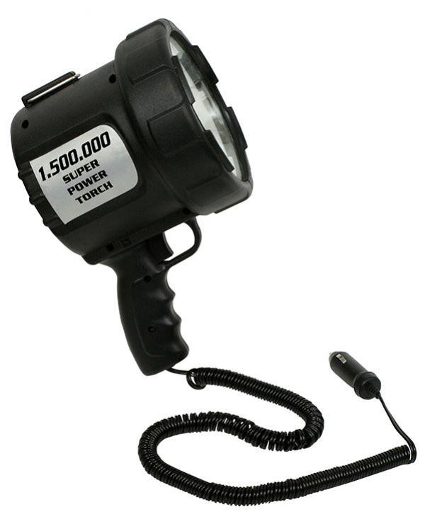 Lanterna Tocha com Foco de Mão 12V - Nautika