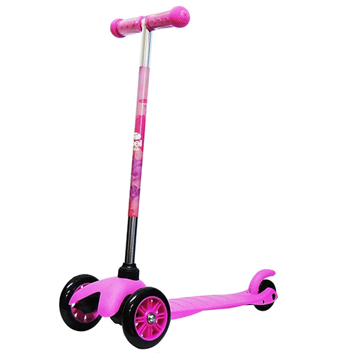 Patinete Infantil Bel Sport Twist 3 Rodas Rosa - Belfix