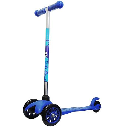 Patinete Infantil Bel Sport Twist 3 Rodas Azul - Belfix