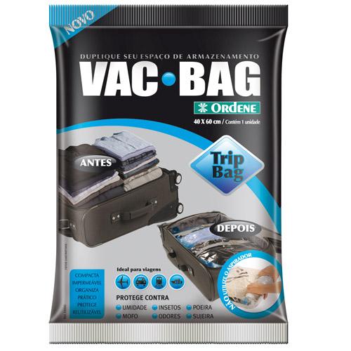 Kit Com 10 Saco A Vácuo Vac Bag 5 Médios 5 Trip Vac Ordene