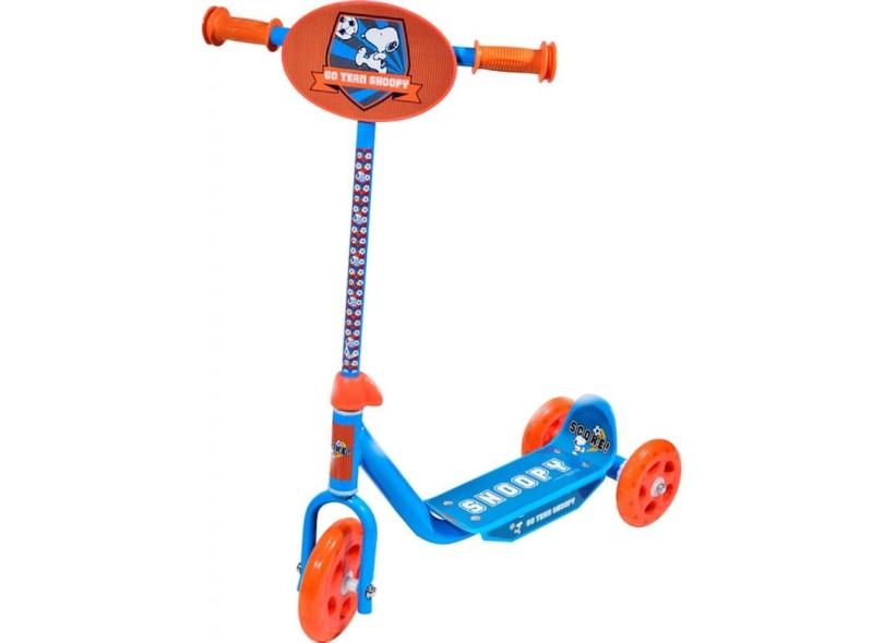 Patinete Infantil 3 Rodas Groovy Snoopy - Belfix