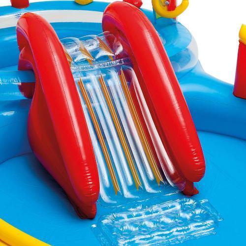 Piscina Inflável Playground Arco Iris 227 Litros - Intex