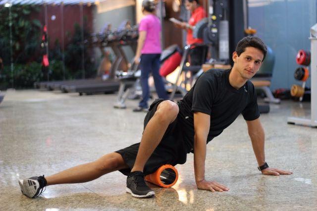 Rolo de Soltura de EVA para Yoga 32cm - Liveup