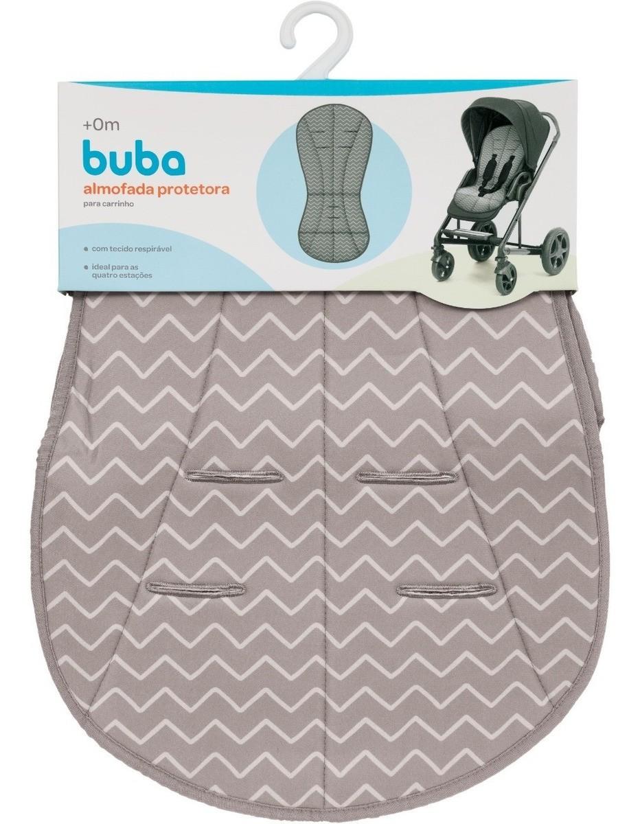 Almofada Protetora Para Carrinhos Bebe Zig Zag Buba