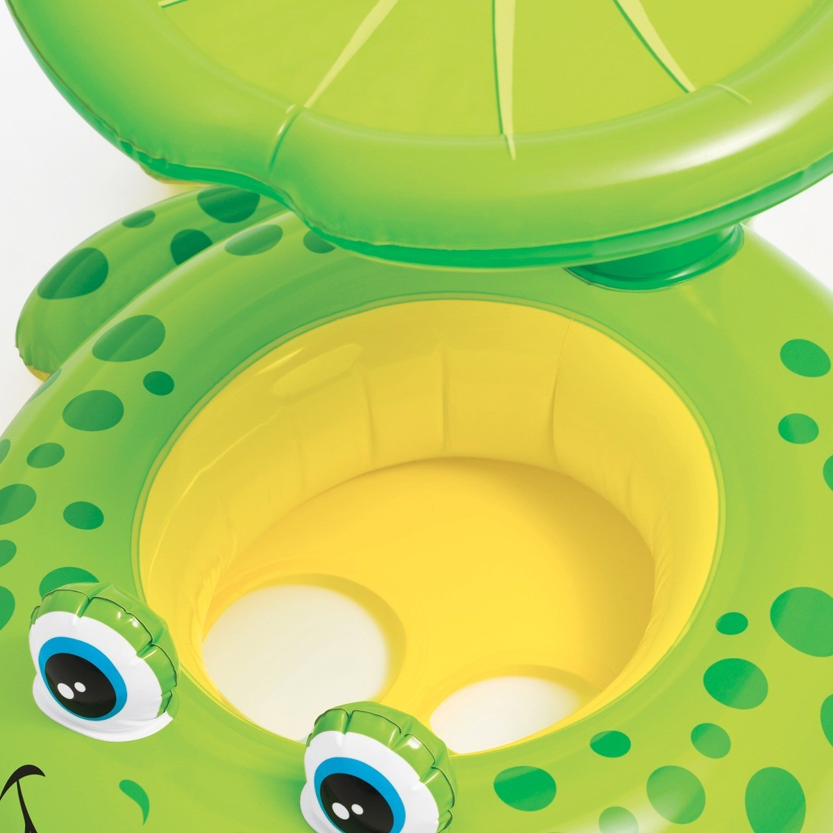Baby Bote Inflável Com Cobertura Sapinho Intex