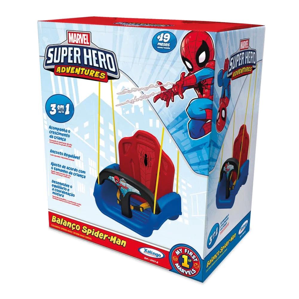 Balanço Brinquedo Infantil Homem Aranha Xalingo