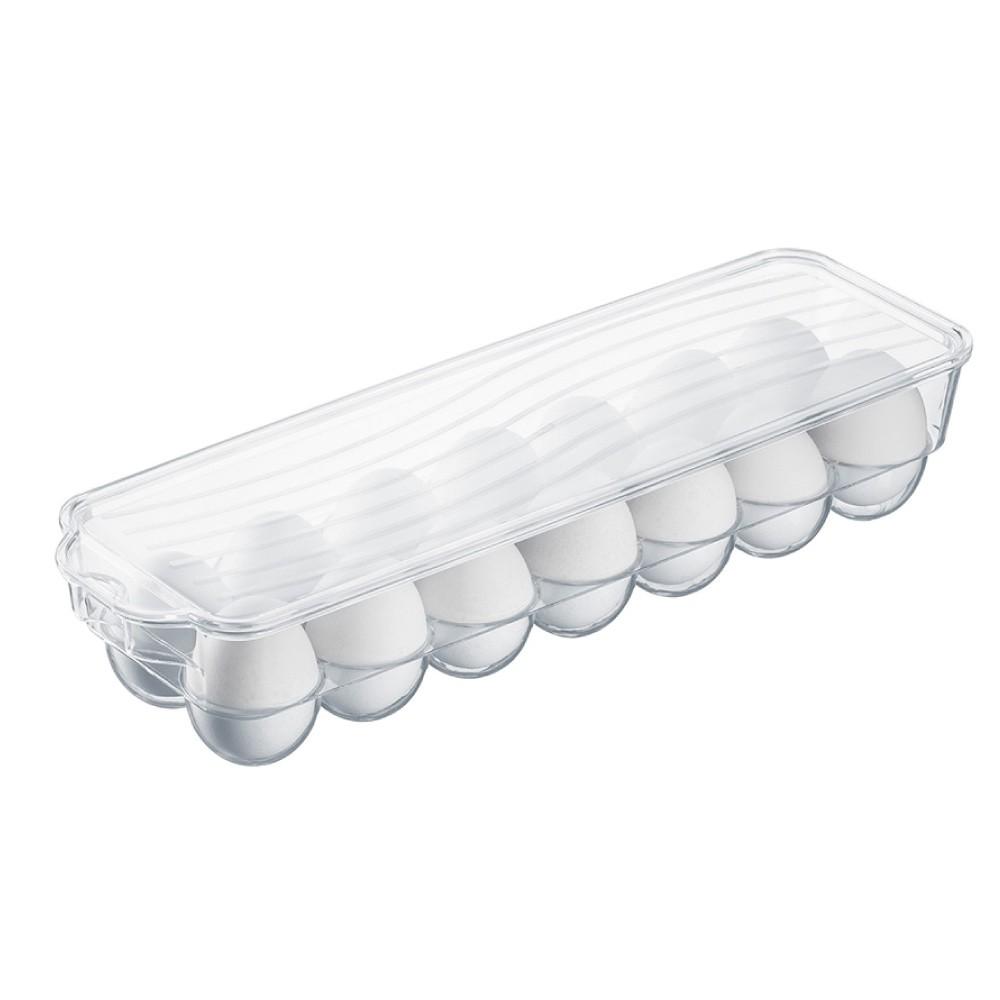 Bandeja De Acrilico Transparente Para 14 Ovos Ordene