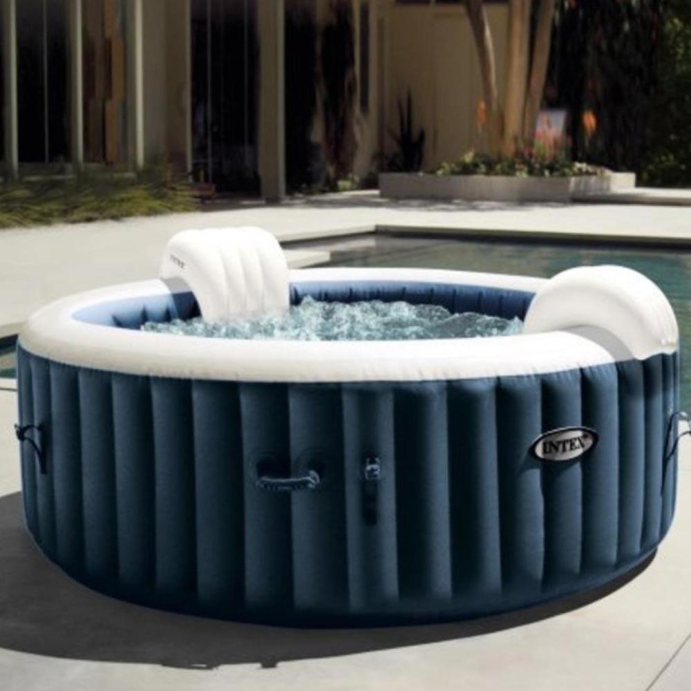 Banheira Ofurô Inflável Spa Bubble Massage Azul 795 Litros - Intex