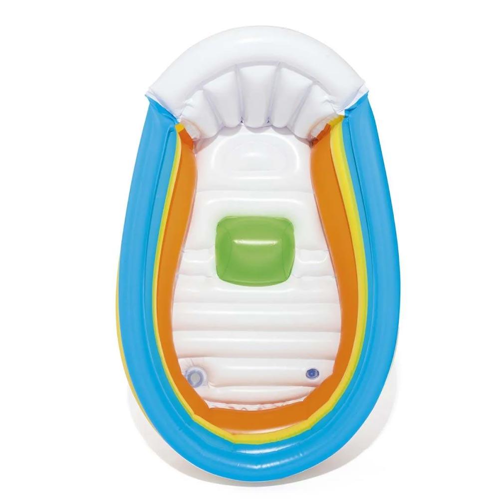 Banheirinha Inflável Bebê Com Apoio + Termômetro Bestway
