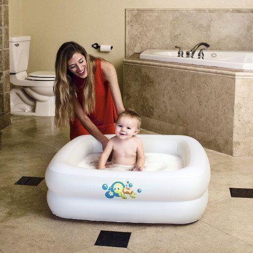 Banheirinha Inflável Bebê Quadrangular 86cm x 86cm x 25cm Bestway 51116