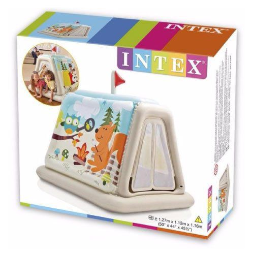 Barraca Infantil Na Trilha dos Animais Intex 48634