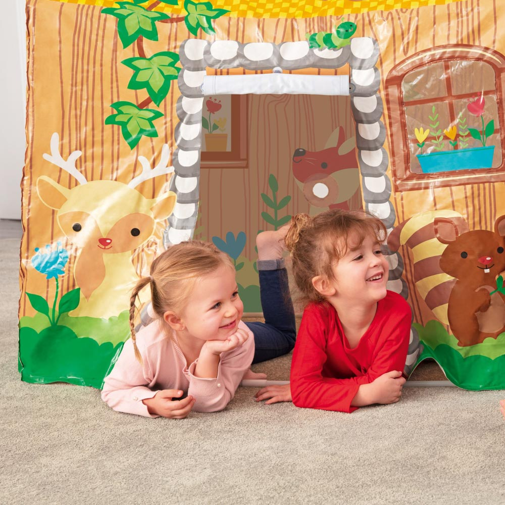 Barraca Casinha Infantil Vinil Playhouse com Porta Bestway