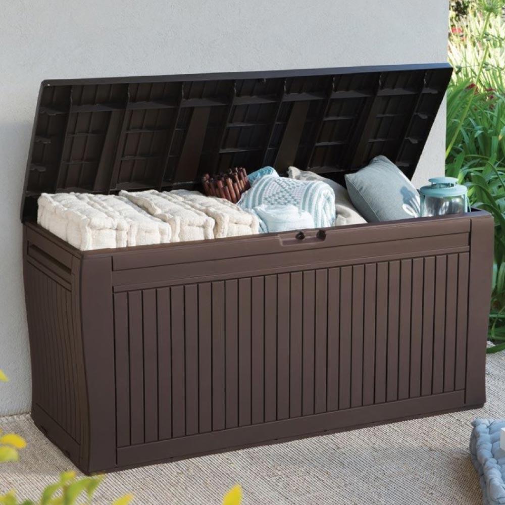 Baú Organizador Confy Deck Box Keter
