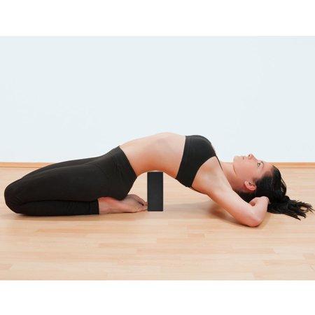Bloco de Yoga Pilates Eva Preto Liveup
