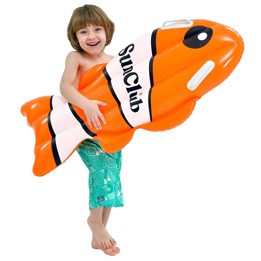 Bóia Colchão Inflável infantil para Piscina Modelo Peixes Jilong
