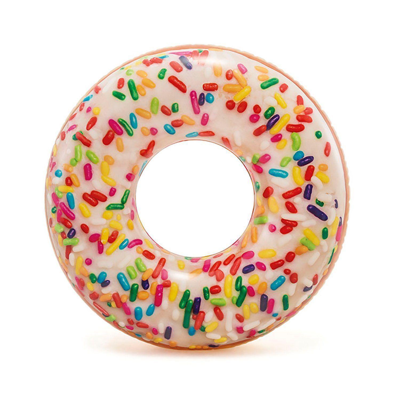 Bóia Inflável Redonda Donut Granulado Intex 56263