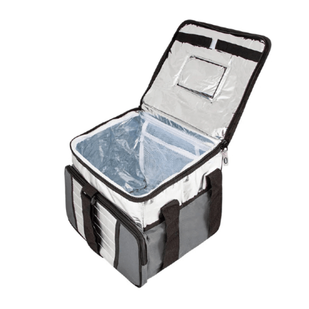 Bolsa Térmica Ice Cooler 24 Litros Até 32 Latas Cinza - Mor