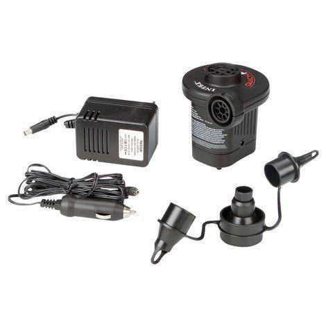 Bomba Elétrica Quickfill 220v Com Adaptador 12v Intex