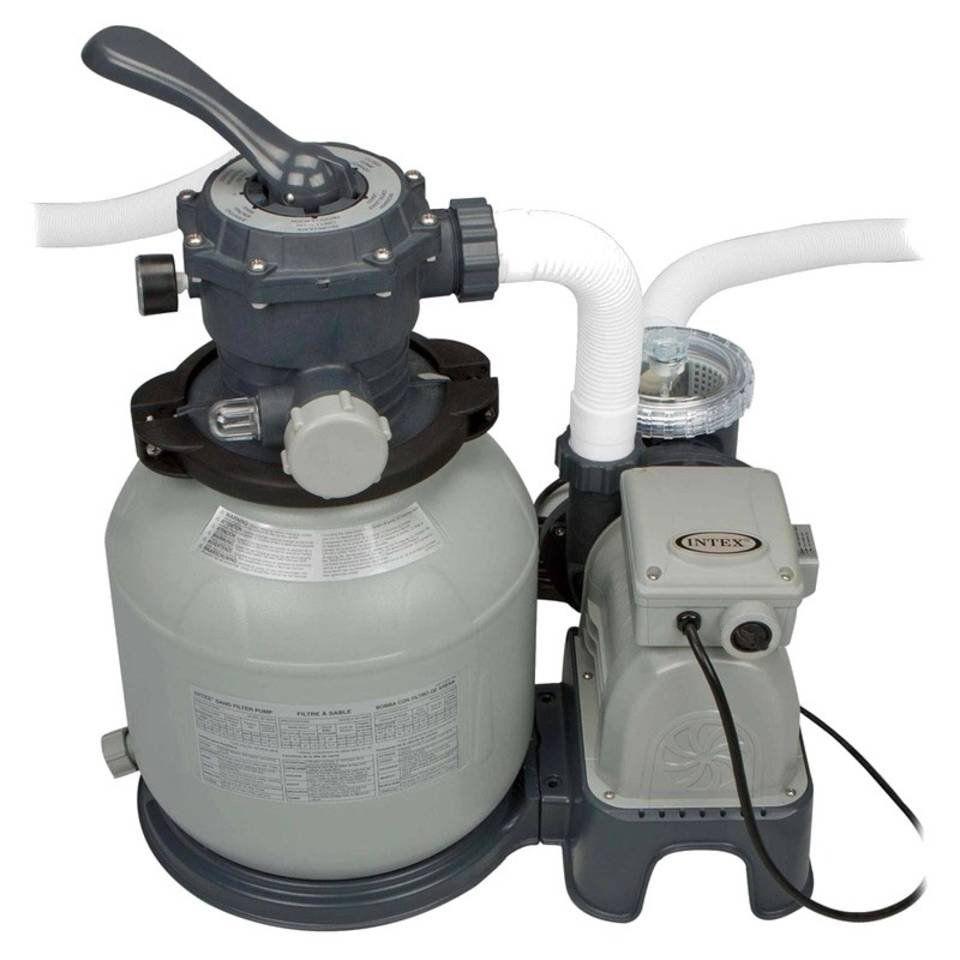 Bomba Filtrante Sistema Areia Krystal Clear 6.000 Litros/hora Intex