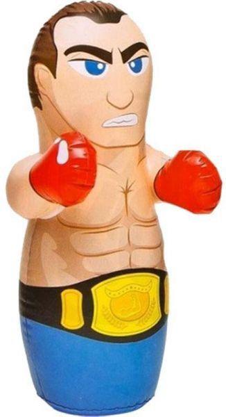 Boneco Inflável João Bobo Lutador Mascarado Boxeador Intex