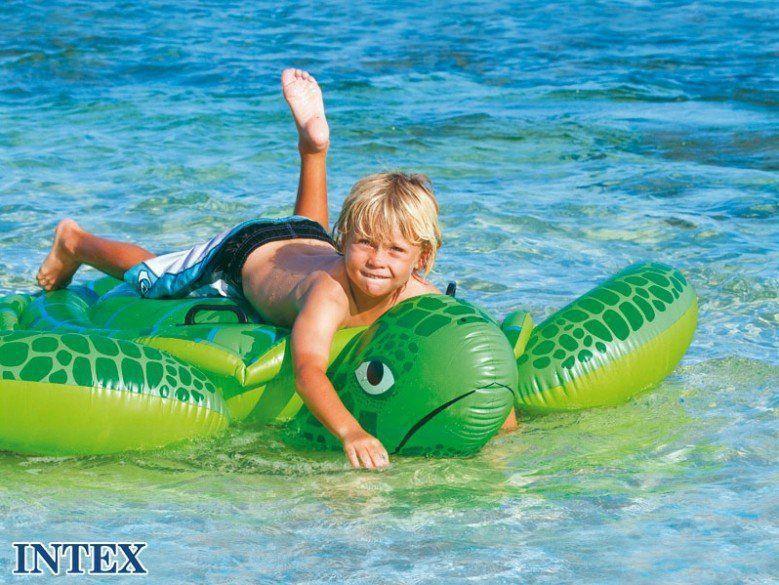 Bote Bóia Inflável Infantil Tartaruga Marinha - Intex