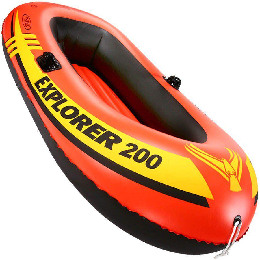 Bote Inflável Explorer 200 Até 95kg - Intex