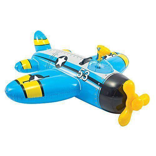 Bote Inflável Infantil Avião Com lançador De Água - Intex