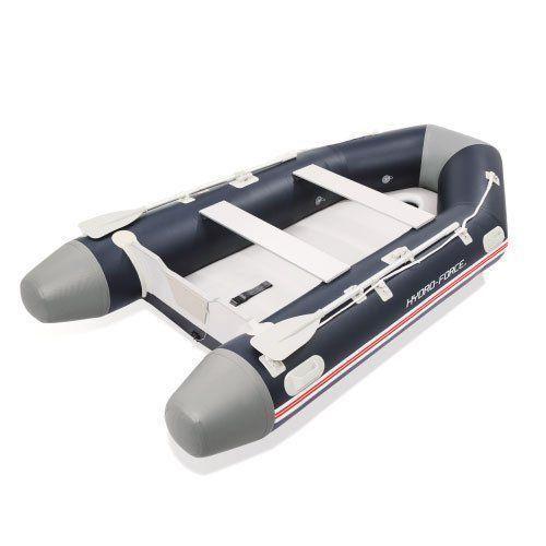 Bote Inflável Mirovia Pro 640kg Com Remos Barco Até 15hp Bestway